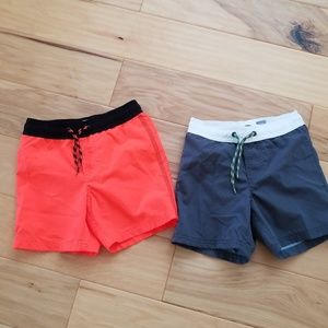 2 pair Old Navy swim shorts 5T